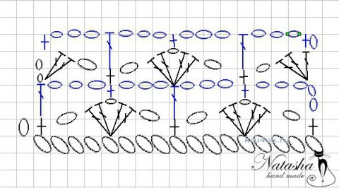 Панама крючком - работа Юлии Галецкой вязание и схемы вязания