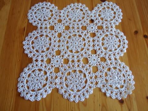 Салфетка крючком - работа Галины вязание и схемы вязания