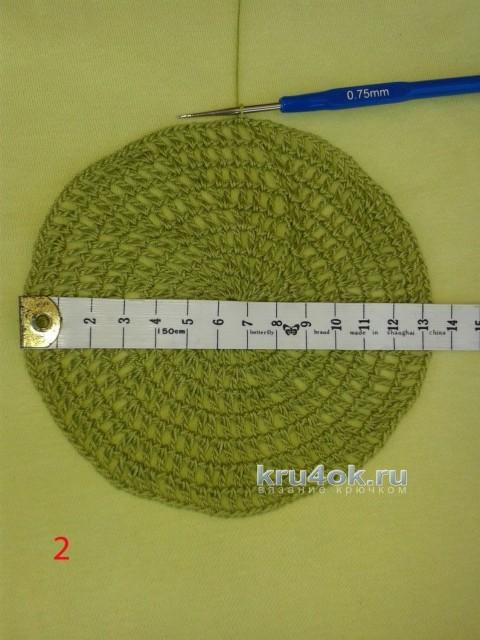 Шапочка крючком. Мастер - класс от Ефимии Андреевских вязание и схемы вязания