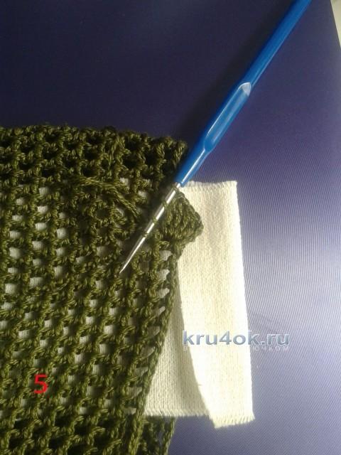 Шапочка с рюшами - МК от Ефимии Андреевских вязание и схемы вязания
