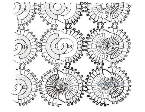 Топ и сумочка крючком - работы Евгении Руденко вязание и схемы вязания
