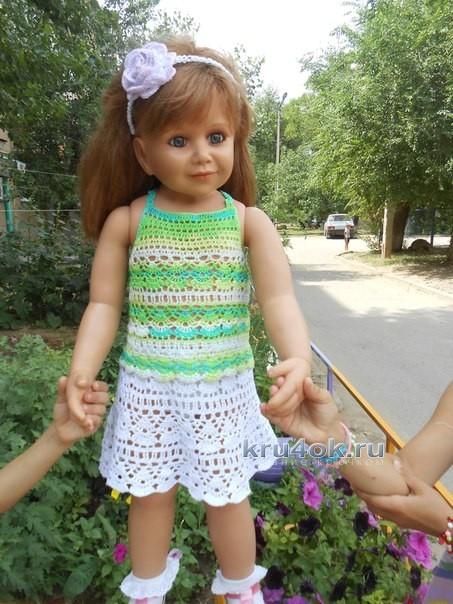 Вязание костюм на девочку 5 лет 864