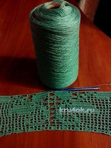 Туника крючком - работа Аллы вязание и схемы вязания