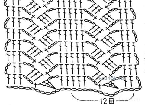 Вязаная крючком юбочка - работа Ирины Стильник вязание и схемы вязания