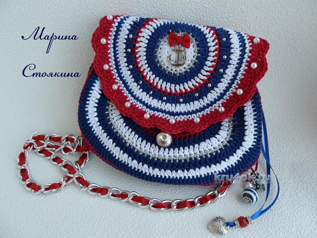 74ea19bd44f3 Вязаная сумочка для девушки — работа Марины Стоякиной