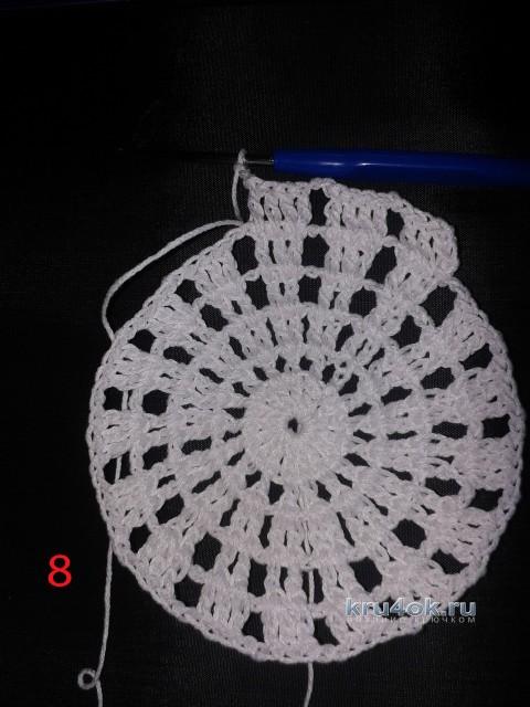 Мастер - класс по вязанию панамы для девочки крючком