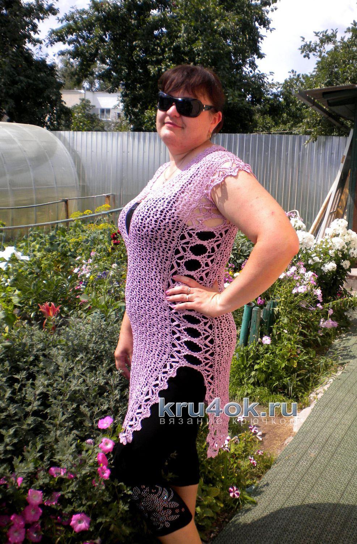 Вязаная туника для женщин