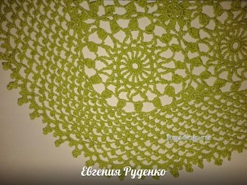 Ажурный жакет Лето, работа Евгении Руденко вязание и схемы вязания