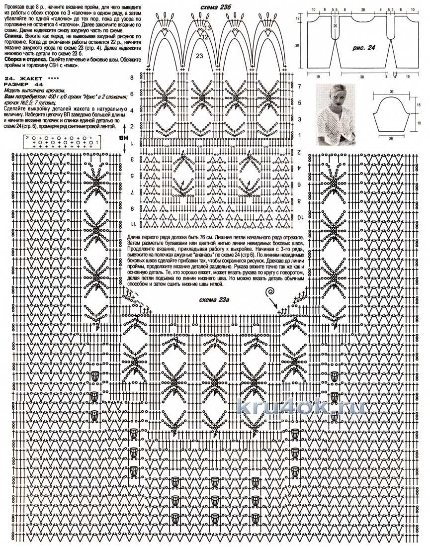 Комбинирование ткани и вязания спицами схемы 10