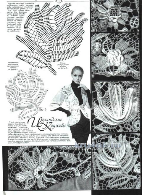 Летняя кофточка крючком - работа Любови вязание и схемы вязания