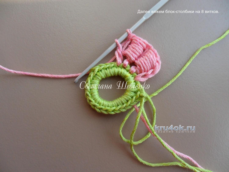 Мастер класс по вязанию шнур гусенички