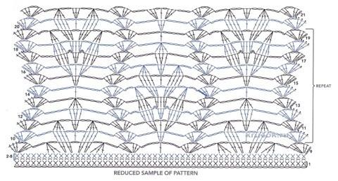 Оранжевая туника крючком. Работа Ирины вязание и схемы вязания