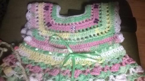 Платье для девочки. Работа Ирины вязание и схемы вязания