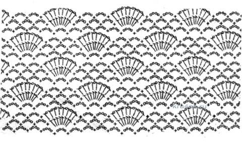 Пляжная туника крючком - работа Натальи Трусовой вязание и схемы вязания