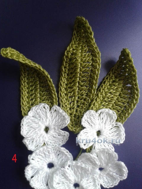 Повязка на голову. Мастер-класс от Ефимии Андреевских вязание и схемы вязания