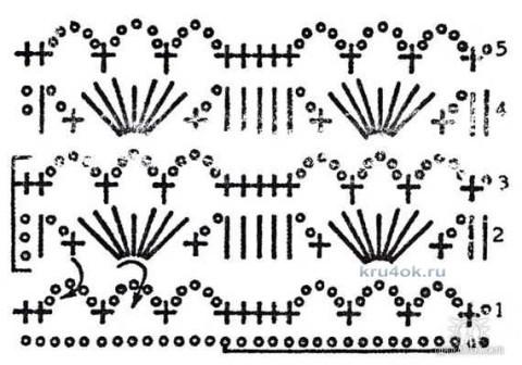 Вязаная красная кофточка вязание и схемы вязания