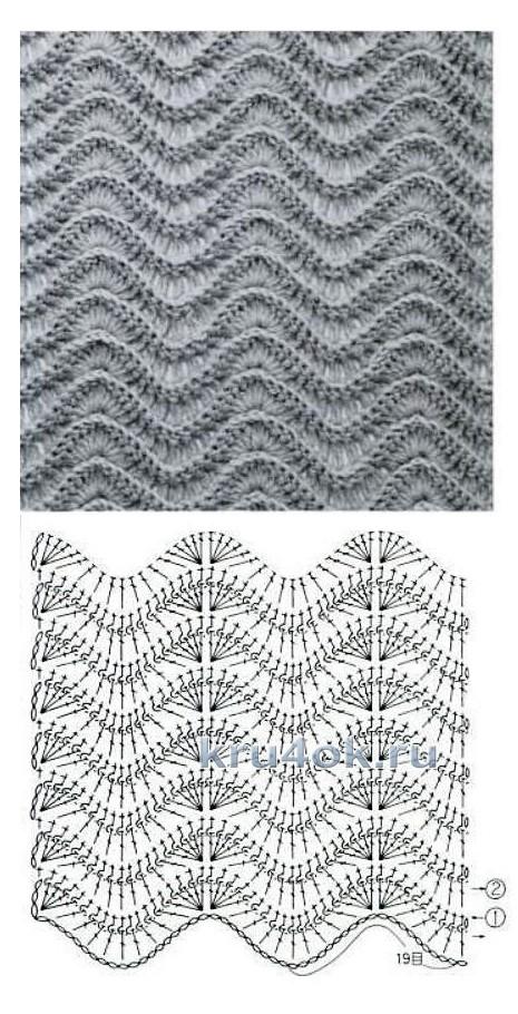 Вязаная сумка. Работа Светланы вязание и схемы вязания