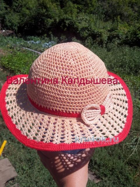 Вязаные крючком шляпки. Работы Валентины вязание и схемы вязания