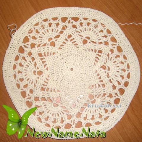 Вязаный берет для девочки. Работа NewNameNata вязание и схемы вязания