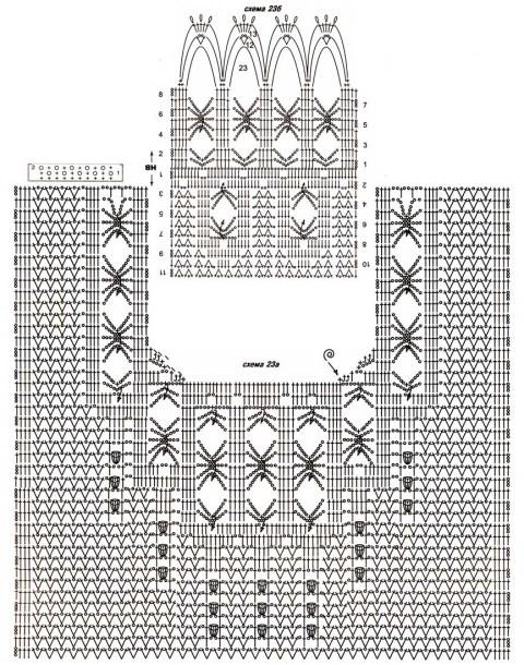 Схемы вязания кофточки: