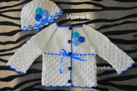 Комплект Белоснежка. Работа Ирины Стильник вязание и схемы вязания