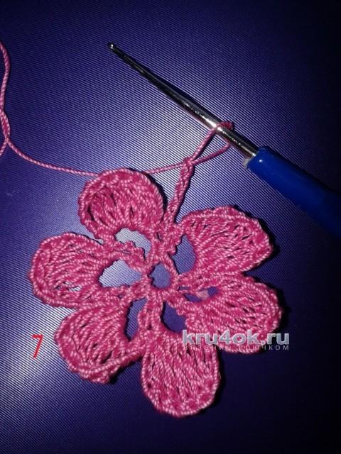 Красивая сумочка - мешочек Идея. Мастер - класс! вязание и схемы вязания