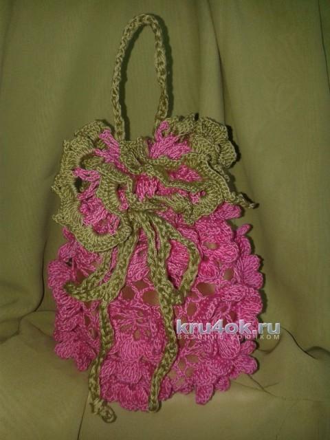 Красивая сумочка - мешочек Идея. Мастер - класс!