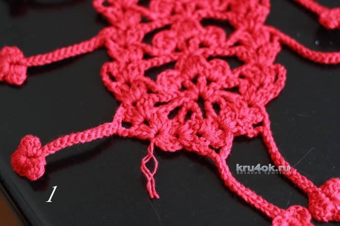 Шапочка и шарфик для девочки.