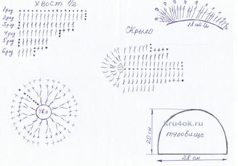 Вязаная крючком грелка на чайник вязание и схемы вязания