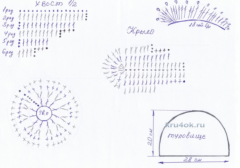Вязаные прихватки петушок фото схемы