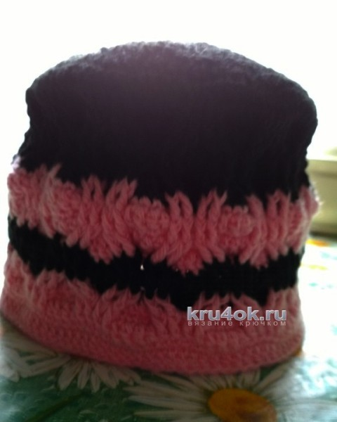 Детские шапочки. Работы Анны Назаренко вязание и схемы вязания