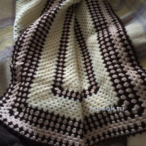 Детский плед крючком. Автор Катьяна Букина вязание и схемы вязания