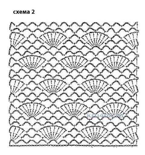 Конкурсная работа Валерии вязание и схемы вязания