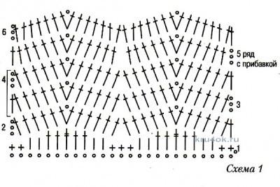 Костюм для девочки. Работа Юлии Галецкой вязание и схемы вязания