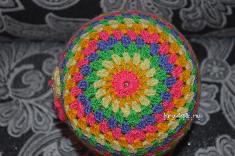 схема вязания летней шапочки для малышки 6 месяцев