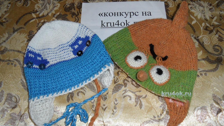 Детские шапочки, шарфики и береты спицами или крючком с 45