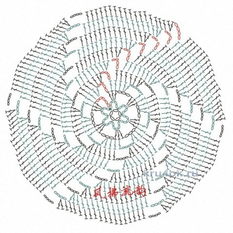 Туника Луч солнечного света. Работа Аллы вязание и схемы вязания