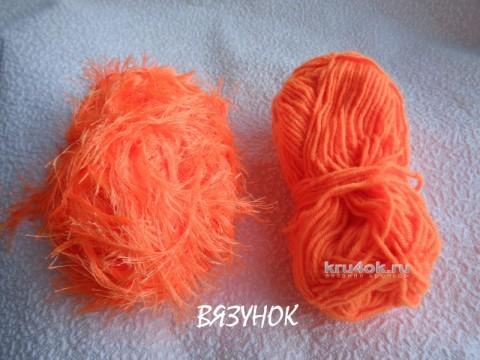 Вязаные пинетки - обезьянки. Мастер класс от Екатерины Карабиной вязание и схемы вязания