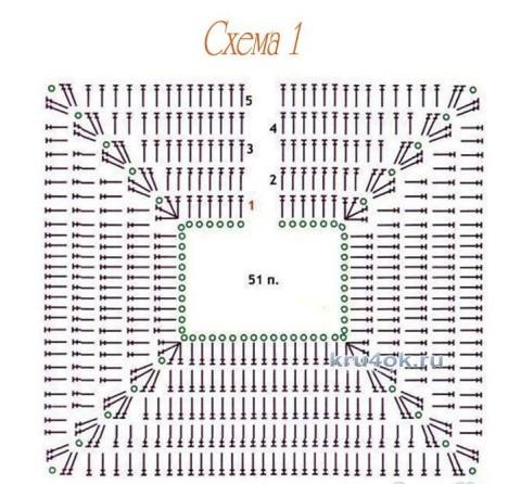Вязаный жилет. Работа Евгении вязание и схемы вязания