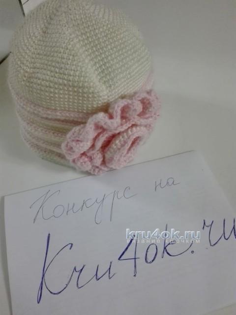 Две шапочки и палантин. Работы Юлии Галецкой вязание и схемы вязания