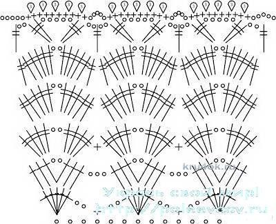 Костюм морячки крючком. Работа Ирины Борисовой вязание и схемы вязания