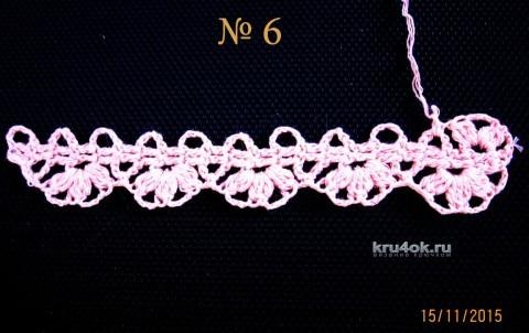 Мастер – класс Валентины Литвиновой по вязанию ленточного кружева вязание и схемы вязания