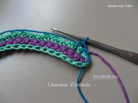 Мотив Завитушка для ирландского кружева. Мастер - класс! вязание и схемы вязания