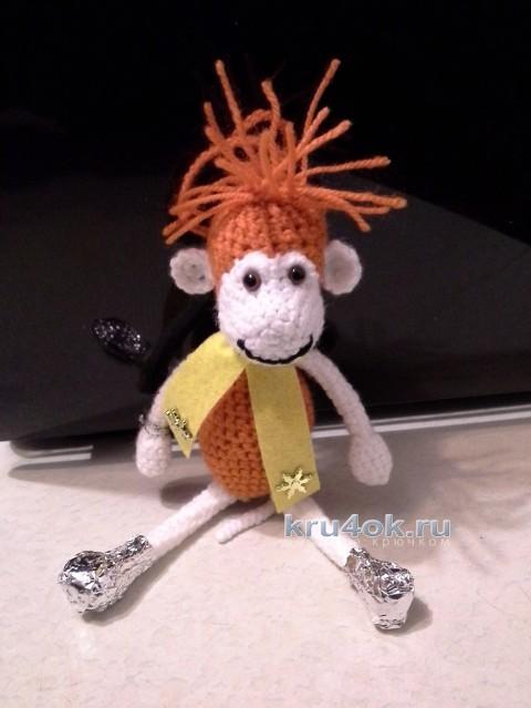 Вязаные игрушки. Работы Дины вязание и схемы вязания