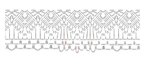 Летний сарафан связан крючком. Работа Татьяны Бажановой вязание и схемы вязания