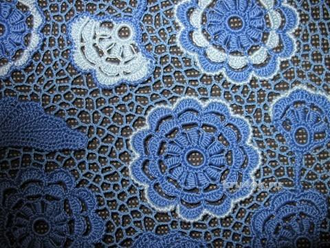 Летняя блуза крючком. Работа Любови вязание и схемы вязания