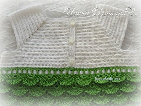 Платье Русалоча. Работа Ирины Игошиной вязание и схемы вязания