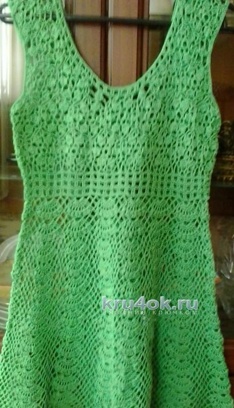 Пляжное платье. Работа Елены Шевчук вязание и схемы вязания