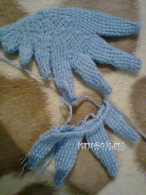 Вязаная игрушка единорог. Работа Дениса вязание и схемы вязания