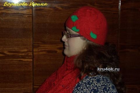 Комплект Красная шапочка. Работа Борисовой Ирины вязание и схемы вязания